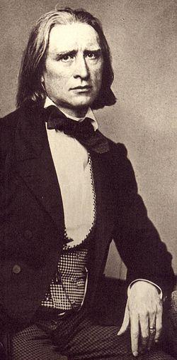 Liszt en 1858