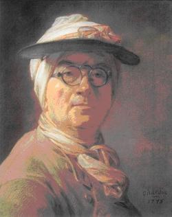 Autoportrait à l'abat-jour, 1775