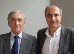 Yves Pouliquen et Jean-Jacques Saragoussi