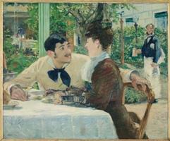 Au père Lathuille, 1879 Huile sur toile, 93,5 x 112,5 cm Tournai, musee des Beaux-Arts