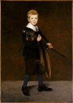 Le jeune garçon à l'épée, 1861 Huile sur toile, 131,1 x 93,4 cm New York, Metropolitan Museum of Art