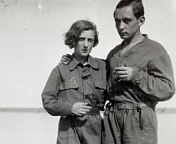 Anna-Eva Bergman et Hans Hartung
