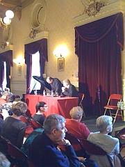 """Théâtre du Châtelet, Colloque """"Figures du Messie"""", 15 mars 2011  15 mars 2011"""
