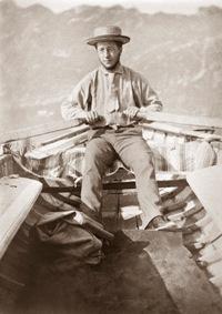 Maurice Minoret ramant Tirage photographique, 11 x 8 cm, collection particulière © D.R.