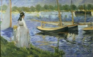 La Seine à Argenteuil (1874), Huile sur toile, 62,3 x 103 cm Londres, the Courtauld Gallery