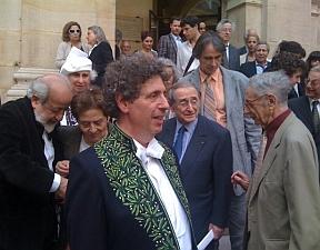 Michaël Levinas, à l'issue de son discours d'installation au sein de l'Académie des beaux-arts, 15 juin 2011, Institut de France,