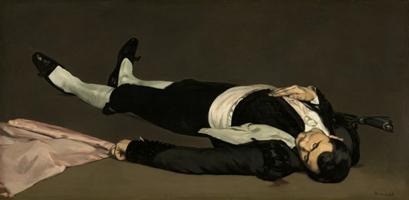 Le torero mort (1864), Huile sur toile, 75,9 x 153,3 cm Washington, National Gallery