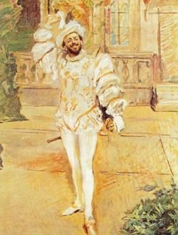 Portrait du chanteur Francisco d'Andrade (1856-1921) en Don Giovanni (n°11) par Max Slevogt (1902), Staatsgalerie Stuttgart.