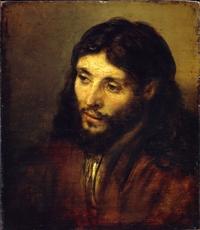 Tête du Christ, vers 1648-50, huile sur bois, Berlin, Staatliche Museum zu Berlin, Gemäldegalerie, Inv 811c
