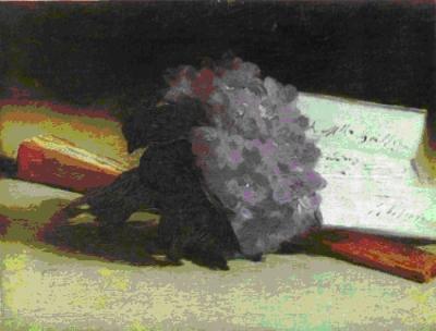 Le bouquet de violettes, Edouard Manet, 1873