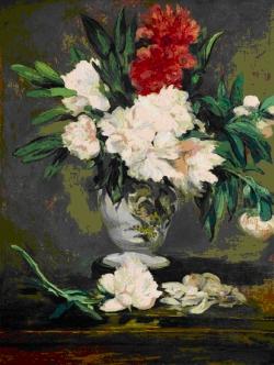 Le vase aux pivoines, Edouard Manet,1865