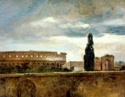 Vue du Colisée, François Marius Granet de l'Académie des beaux-arts