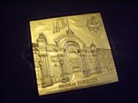 Médaille du président de la république Nicolas Sarkozy