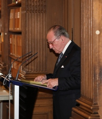 Le Chancelier de l'Institut, Gabriel de Broglie