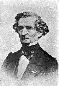 Hector Berlioz, élu à l'Académie des beaux-arts en 1856