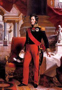 Louis-Philippe de Bourbon (1841 ) par Franz Xaver Winterhalter
