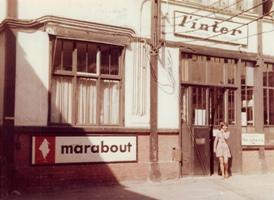 L'entrée des Editions Seghers, rue de Vaugirard