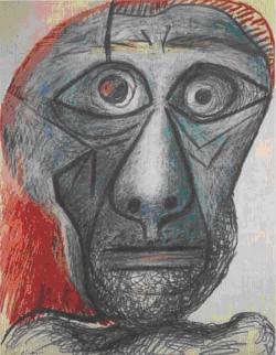 Pablo Picasso, Autoportrait face à la mort