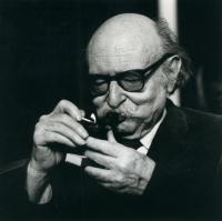 Jean Rostand, de l'Académie française.