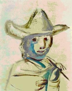 Pablo Picasso, Le jeune peintre