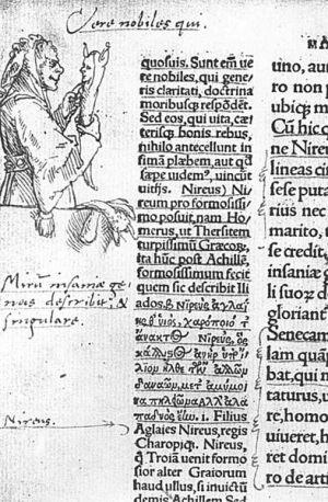 L'Eloge de la Folie illustré par Hans Holbein le Jeune