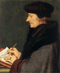 Portrait d'Erasme par Hans Holbein le Jeune