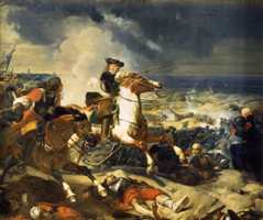 La bataille des Dunes par Larivière
