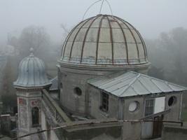 La coupole de l'observatoire avant restauration
