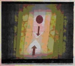 Paul Klee, Devant l'éclair, 1923