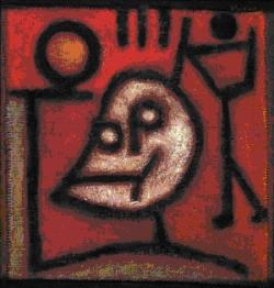 Paul Klee, La mort et le feu, 1940