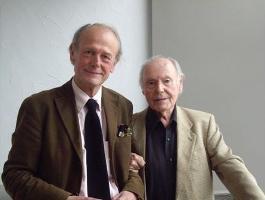 Jacques Paugam et René de Obladia, de l'Académie française