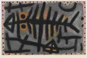 Paul Klee, Poisson cloporte boueux, 1940