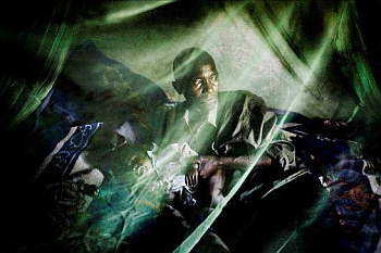 """Photographie de William Daniels, """"Malaria"""","""