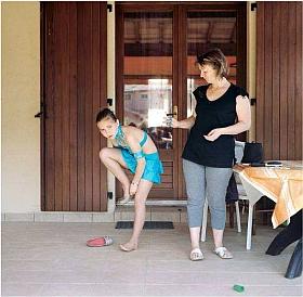 Photographie de Marion Poussier, exposition famille, 2011
