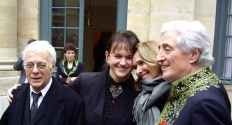 12 mars 2009: jour de réception de Jean-Loup Dabadie à l'Institut de France