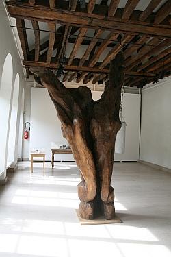 Etienne Martin, Le Cri , 1963, Biennale de Sculpture de Yerres, septembre 2011