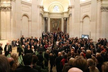 Installation de Patrick de Carolis au sein de l'Académie des beaux-arts, 12 octobre 2011, Institut de France