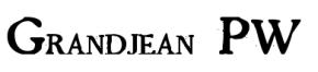 Le père de Jean-Paul Fouchy, Philippe Fouchy était graveur du roi et inventa les caractères Grandjean, dont voici un exemple.