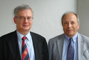 Bernard Meunier et Patrick Terroir ( de gauche à droite)