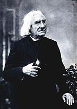 Liszt par Nadar