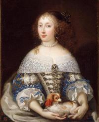 Anne Henriette d'Angleterre, femme de Philippe d'Orléans aussi appelée Madame
