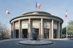 La rotonde du Palais d'Iéna