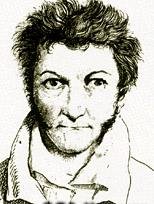 Autoportrait d'Ernst Theodor Amadeus Hoffmann