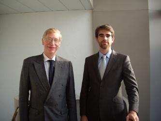 Philippe Jurgensen (à gauche) et Pierre Sabatier