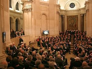 Séance solennelle de l'Académie des beaux-arts du 16 novembre 2011