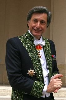Patrick de Carolis lors de son installation à l'Académie des Beaux-arts, 12 octobre 2011, Bibliothèque de l'Institut de France