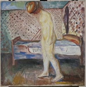 Femme en pleurs, 1907 Huile sur toile 121 x 119 cm