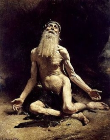 Job selon le peintre Léon Bonnat (1880)