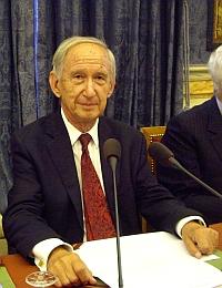 Jean Tulard de l'Académie des sciences morales et politiques, 17 octobre 2011, Petite salle des séances, Institut de France