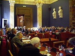 Salle des séances, 17 octobre 2011, Académie des sciences morales et politiques, Institut de France